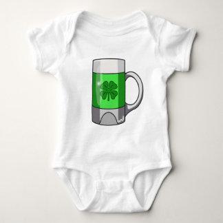 緑ビール ベビーボディスーツ