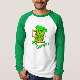 緑ビール- St pattys dayのワイシャツ Tシャツ