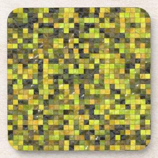 緑ピクセル コースター