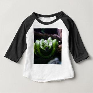 緑ヘビ ベビーTシャツ