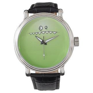 緑モンスターの腕時計 腕時計