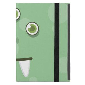 緑モンスターの顔のiPad Miniケース iPad Mini ケース