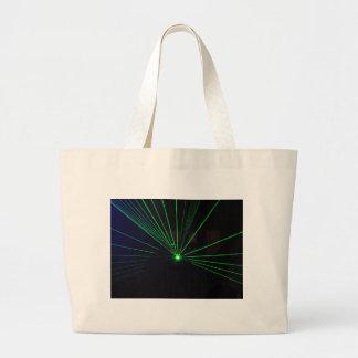 緑レーザーショー ラージトートバッグ