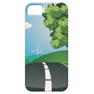 緑分野および都市 iPhone SE/5/5s ケース