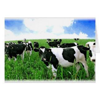 緑分野の乳牛 カード