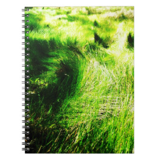 緑分野-ノート ノートブック