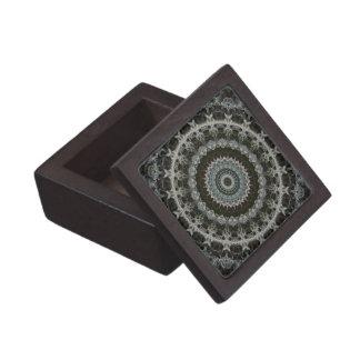緑及びブラウンの曼荼羅の優れたギフト用の箱 ギフトボックス