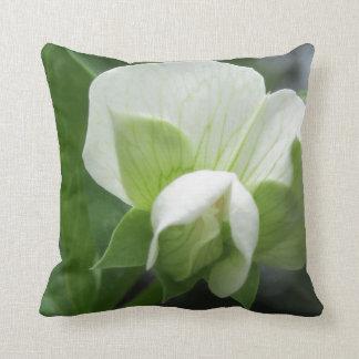 緑及び白い枕~元の高いresの写真 クッション