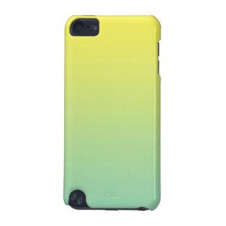 緑及び黄色のグラデーション iPod TOUCH 5G ケース