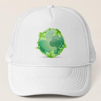 緑土のリサイクルの記号 キャップ