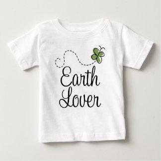 緑土の恋人の蝶Tシャツ ベビーTシャツ
