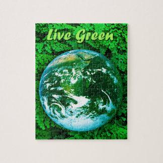 緑土-生態学的な認識度 ジグソーパズル