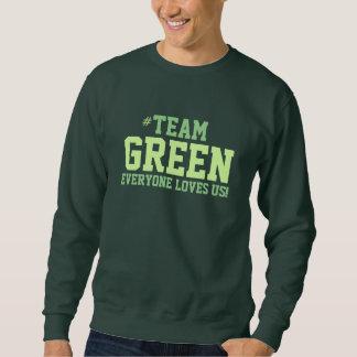 緑家族のプライドのスエットシャツ スウェットシャツ