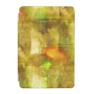 緑抽象的な質色の継ぎ目が無い茶色 iPad MINIカバー
