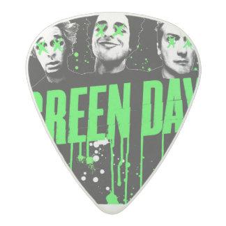 緑日のギターのPlectrum アセタール ギターピック