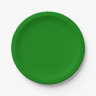 緑書のプレート ペーパープレート