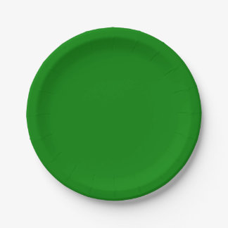 緑書のプレート ペーパープレート スモール