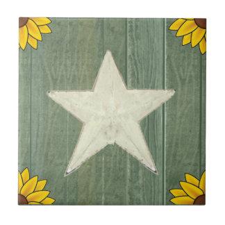 緑木の白い星 タイル