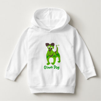 緑犬 パーカ