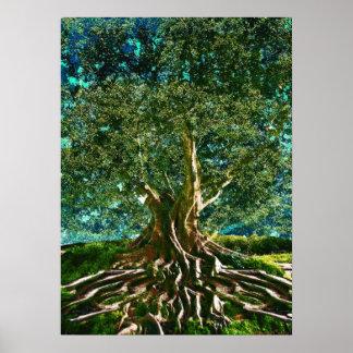 緑生命の樹 ポスター