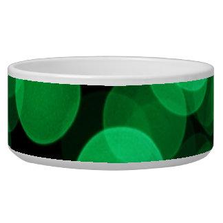 緑色航法燈のペットボウル
