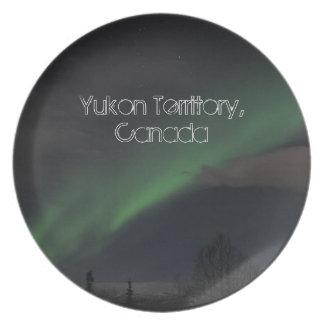 緑色航法燈の波; ユーコン準州領域の記念品 プレート