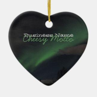緑色航法燈の波; 昇進 セラミックオーナメント