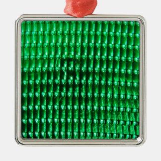 緑色Iamge メタルオーナメント