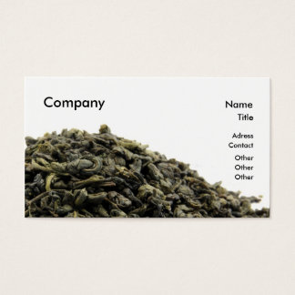 緑茶 名刺