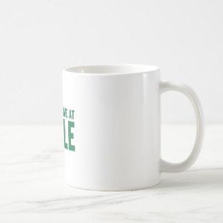 緑葉カンランで私がありました コーヒーマグカップ