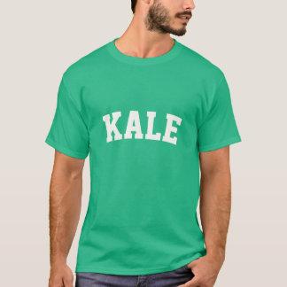 緑葉カンラン-学術のフォント Tシャツ