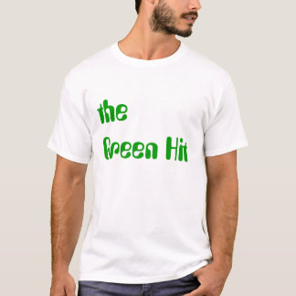 緑衝突ティー Tシャツ