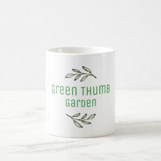 緑親指の庭のマグ コーヒーマグカップ