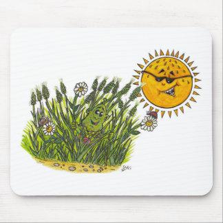 緑豊かな芝生 マウスパッド