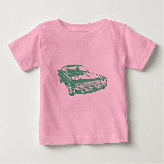緑車 ベビーTシャツ