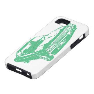 緑車 iPhone SE/5/5s ケース