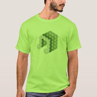 緑音楽ノート Tシャツ