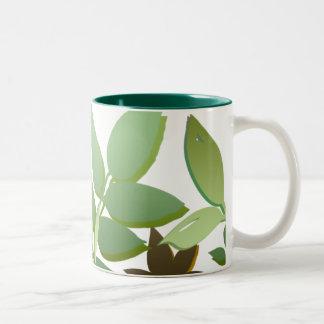 緑02 ツートーンマグカップ