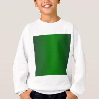 緑2 -中型のジャングルの緑および緑の勾配 スウェットシャツ