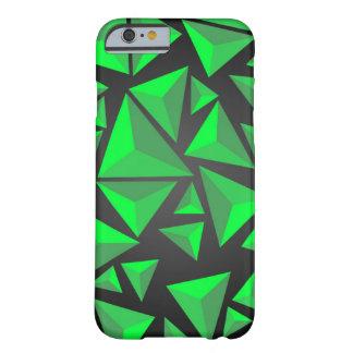 緑3Dピラミッドの箱 BARELY THERE iPhone 6 ケース