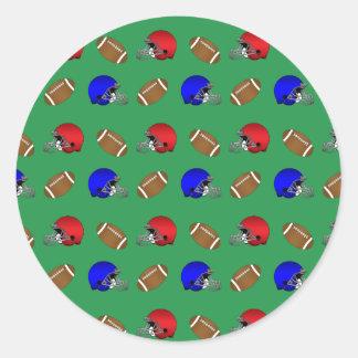 緑|フットボール|ヘルメット|パターン