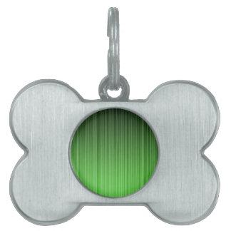 緑 ペットネームタグ