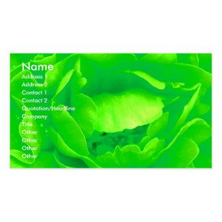 緑|上がりました|花屋|I|ビジネス|カード ビジネスカードテンプレート