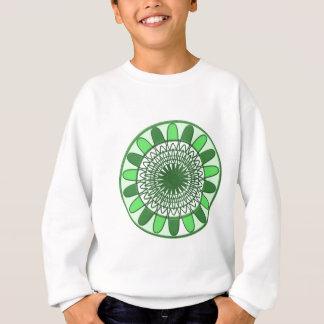 緑: 保存への動きの車輪 スウェットシャツ