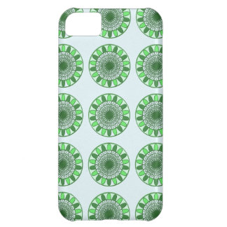 緑: 保存への動きの車輪 iPhone5Cケース