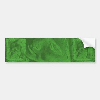緑 反射 I バンパー ステッカー バンパーステッカー