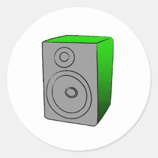 緑BOOMBOX ラウンドシール