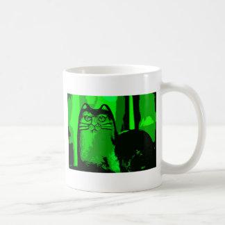 緑CAT 2 コーヒーマグカップ