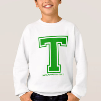 緑T スウェットシャツ
