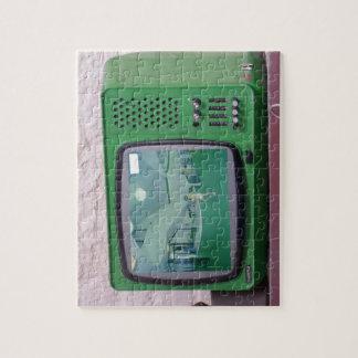 緑TV ジグソーパズル